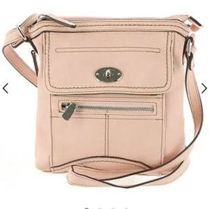 BOC Carrolton Crossbody organizer Bag blush pink